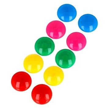 Farebný magnet na doskách chladničky Magnety 10 ks.