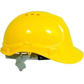 Ochranná prilba Stavebná prilba Vandal-V Žltá zdravie a bezpečnosť