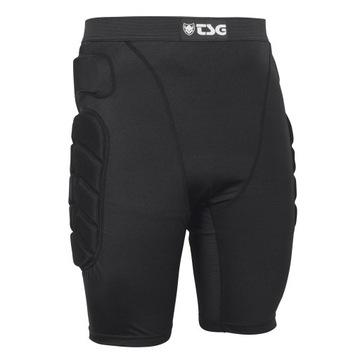 TSG Crash pant všetky terénne šortky čierna veľkosť m