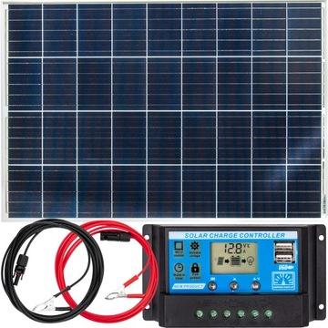 Solárna panel Solárna batéria 100W 12V Regulátor