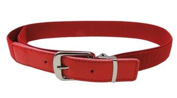 Nastaviteľný červený gumený pás pre deti