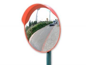 Zrkadlový cestný parkovací sklad + držiak 60cm