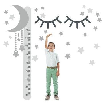 Samolepky na stenu na meranie výšky pre deti