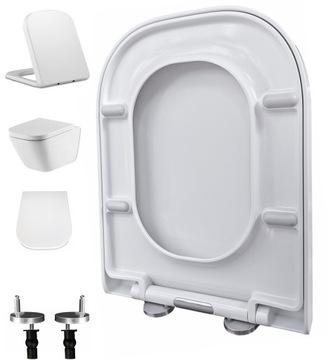WC sedátko, pomalé zatváranie, odnímateľné pre ROCA GAP