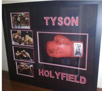 Gauzeta podpísaná Tysonom - väzba na Holyfield!