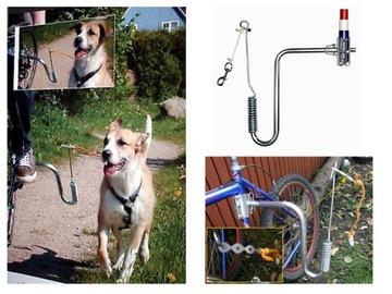 Vodítko springer rukoväť silné pre psie bicykel