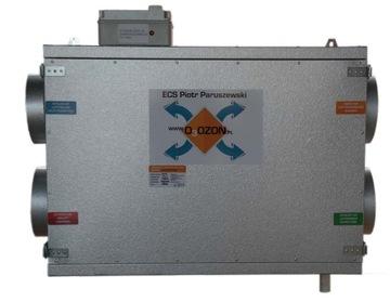Vzduchotechnická jednotka Rekuperátor 360 m3 / h ionizato