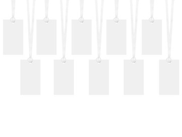 Menovky na darčeky, karty 4,5x8,7cm, 10ks. B
