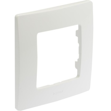 Legrand NILOE Single frame biely 665001