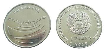 Transnist 1 rubľový kúpanie 2019