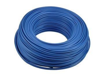 Inštalačný kábel LGY 1MM BLUE 100M