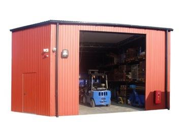 Magazín Tin Garage Blaszak Halle Garages 6x5m