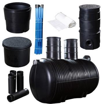 Čistiareň odpadových vôd pre domácnosť do 4 osôb 1 800 l