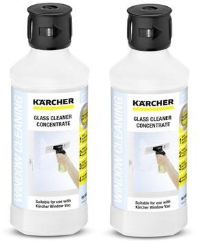Čistič okien Karcher RM 500 2 ks podložiek WV 2 a WV 5