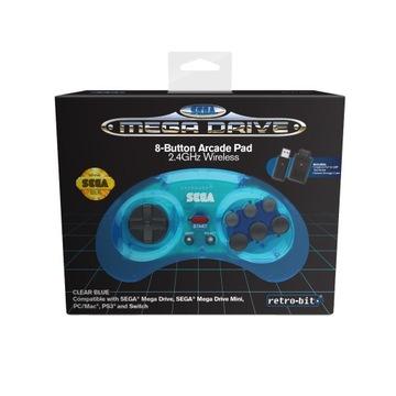Sega Mega Drive Blue Pad 2.4GHz Multiplatform