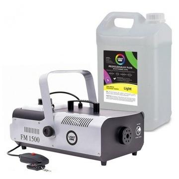 Light4ME FM 1500 Smokementový generátor + pilot + kvapalina 5L