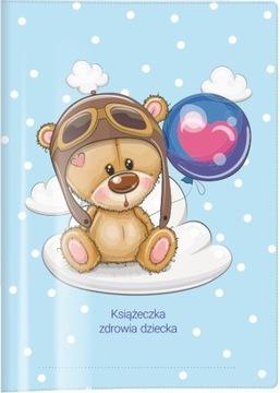Obal na knihu zdravia dieťaťa BIURFOL Miś