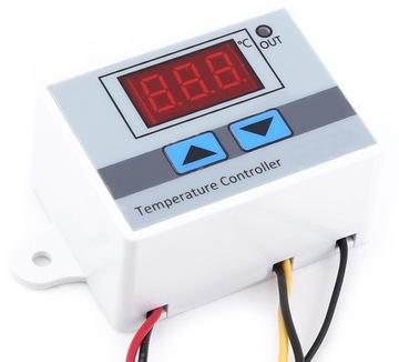 Termostat Elektronický regulátor teploty 230V