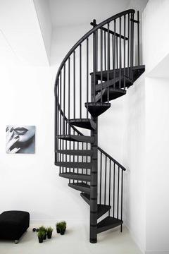 Točité točité schody LOFT RONDO COLOR Ø120 cm