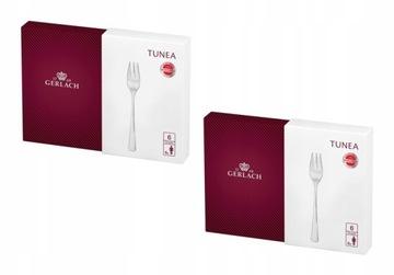Gerlach Tunea NK159 Tortová vidlička 2x6el, 12 osôb