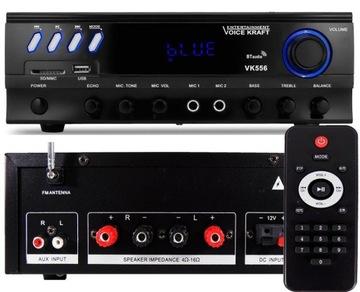 Zosilňovač stereo Bluetooth Radio diaľkové ovládanie