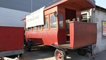Kôň Carriage Coodette Planwagen