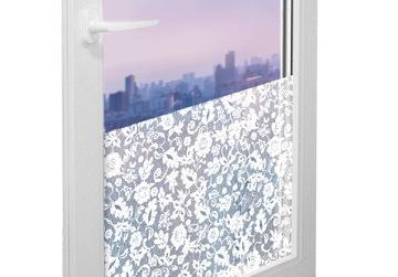 Okenná dyher Foilová nálepka pre sklo 45x25cm MB