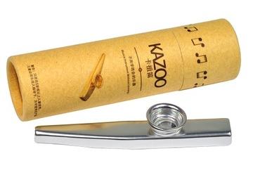 Metal Kazoo v elegantnom zrkadlovom balíku