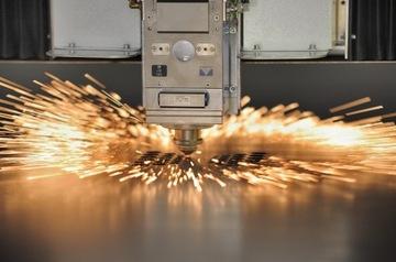 Laserové rezanie, rezanie plechu, oceľové práce