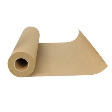 Pečenie papiera hnedý silikón 50m