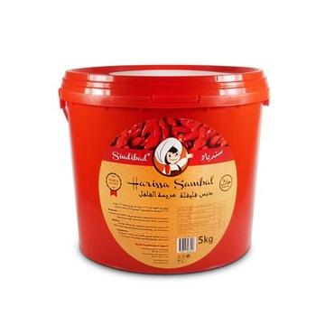Sambal Oleek Harissa z Pepperoni Mega Ostra 5kg