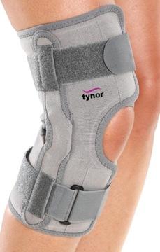 Profesionálny stabilizátor kolennej ortózy s koľajnicami