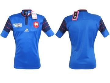 Athletic T-Shirt tričko Adidas Francúzsko Rugby L
