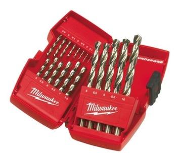 Milwaukee kovový vŕtač ThunderWeb 1-10mm 19EL