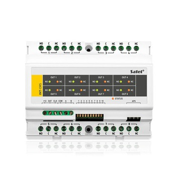 SATEL CONTROL 230V EXPANDER INT-ORS, 8 výstupov