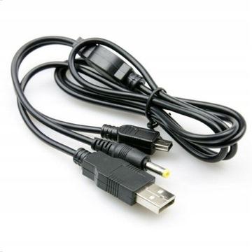 USB DC 2W1 Kábel pre PSP Slim 2000, 3000 - 3004