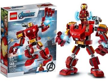 LEGO 76140 Mech Iron Man Figurine - URČITE RÝCHLO