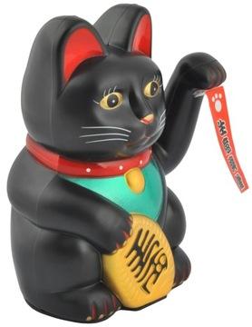 Japonská kočka Maneki-Neko. Čínska šťastná mačka