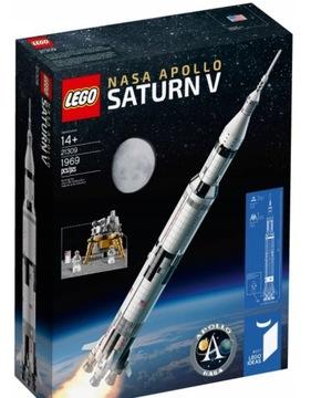LEGO Rocket NASA Apollo Saturn V 21309