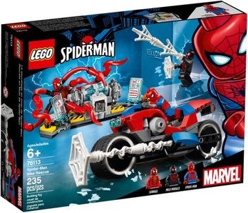 LEGO SPIDER MAN 76113 MILES MORALES CARNAGE ČIERNE