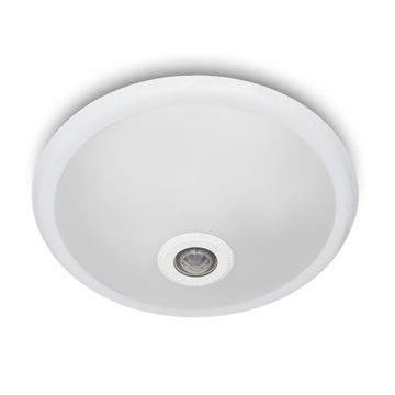 Stropné svietidlo so senzorom pohybu a súmraku pre LED 2xE27