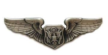 Originálne znamenie dôstojníka AirCrew odznak