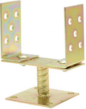Stĺpová konzola s kotviacim podstavcom 0 - 160 mm