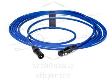 Mikrofónový kábel Sommer Club Blue Neutrik XLR 4M