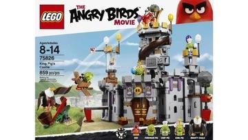 LEGO Angry Birds 75826 Hrad kráľa ošípaných NOVINKA