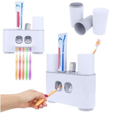 Držiak kefky na dávkovač zubnej pasty x 5