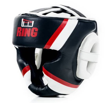 Boxing Helmba Sparring Tournament Leather - L