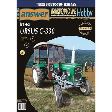 Odpoveď 6/19 - Poľnohospodársky traktor Ursus C-330 1:25