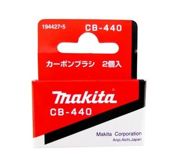 Makita Uhlíkové kefy CB-440 CB440 Skrutkovače !!!