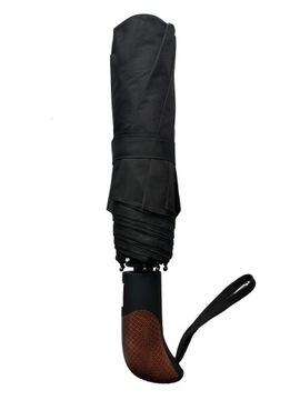 Muž dáždnik Automatické TIROSS čierne skladanie